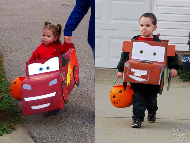 A Lightning McQueen Halloween
